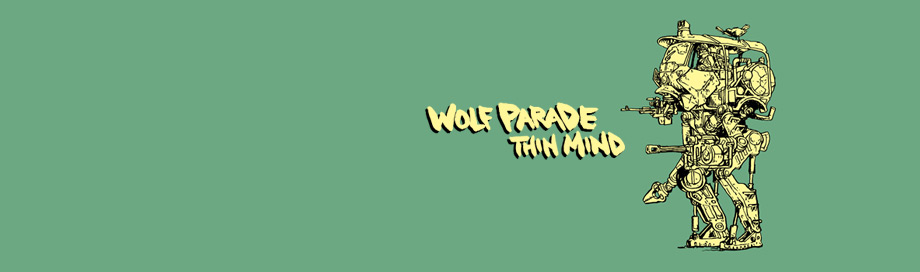 Wolf Parade on sale