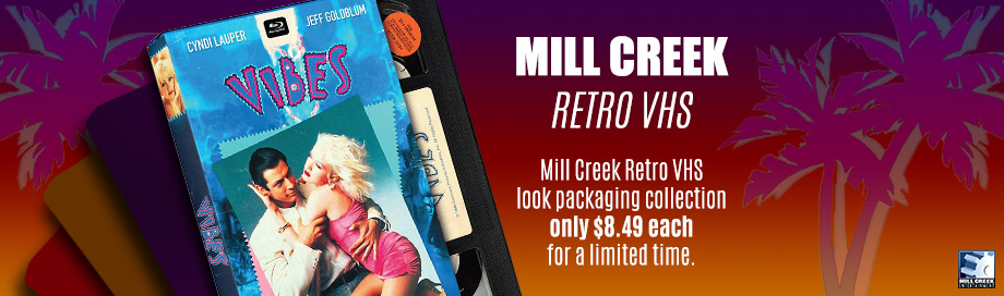 mill creek retro vhs sale