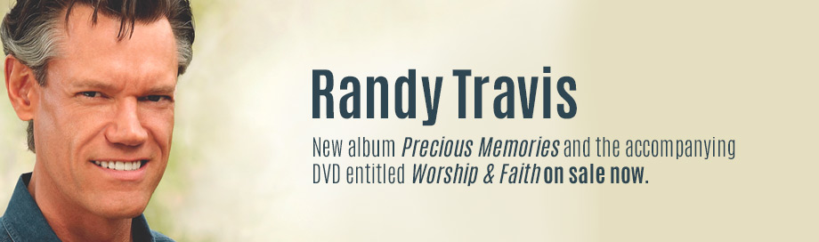 Randy Travis on sale