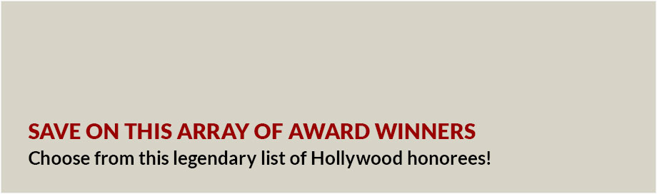 Save on This Array of Award Winners