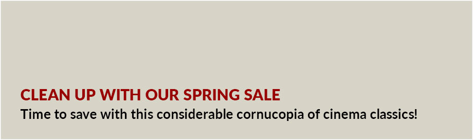 Clean Up with our Spring Sale