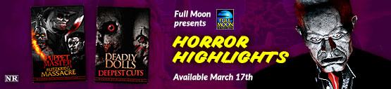 Bunker of Blood Horror Highlights from Full Moon