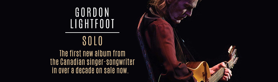 Gordon Lightfoot on sale