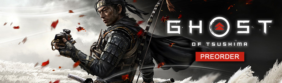 Ghost of Tsushima on sale