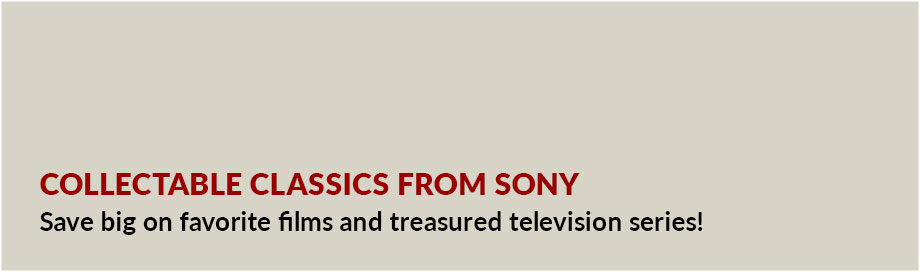 Collectable Classics from Sony
