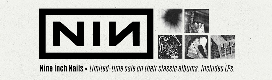 Nine Inch Nails on sale