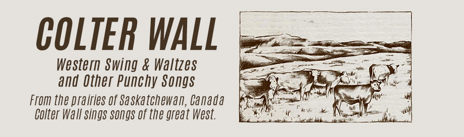 Colter Wall on sale