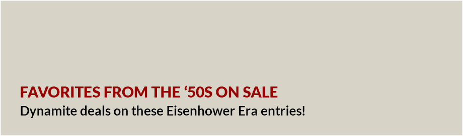 Favorites from the '50s on Sale