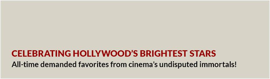 Celebrating Hollywood's Brightest Stars