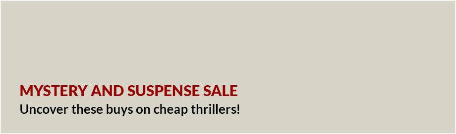 Mystery and Suspense Sale