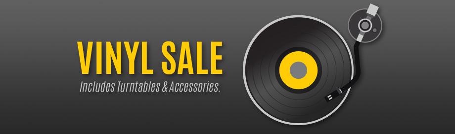 Vinyl and Turntable Sale