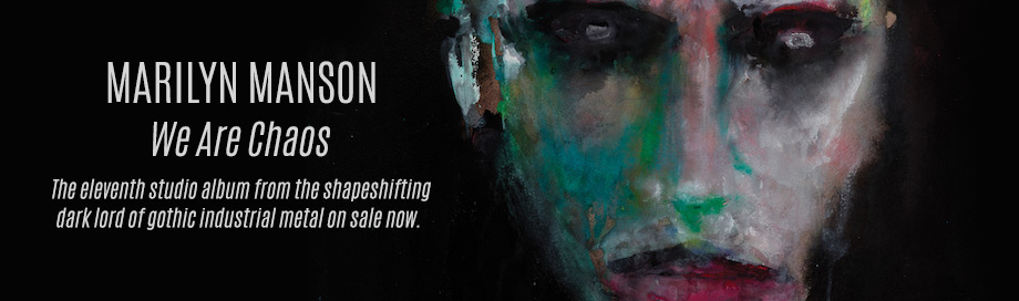 Marilyn Manson on sale