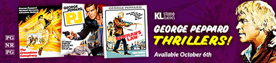 George Peppard Thrillers from KL Studio Classics