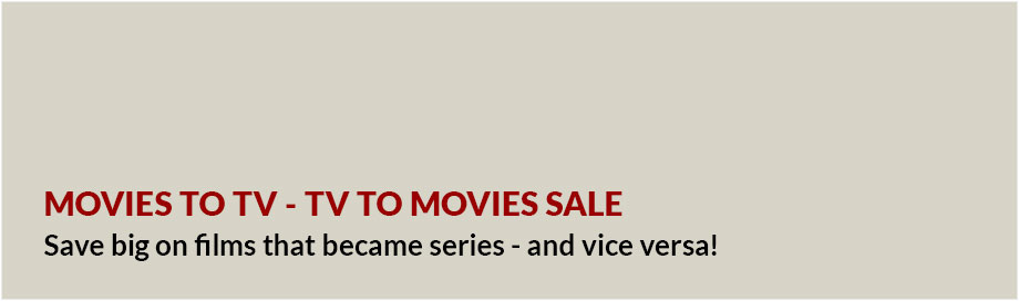 Movies to TV - TV to Movies Sale