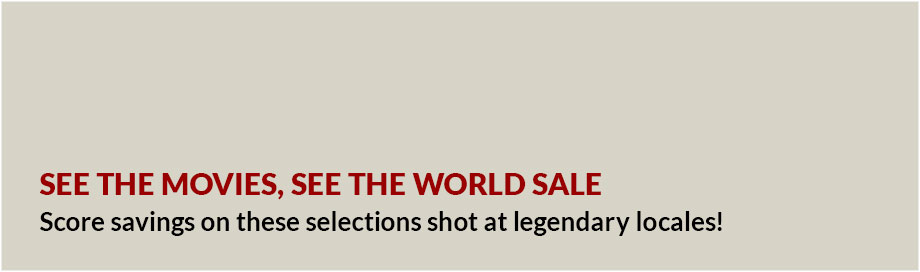 See the Movies, See the World Sale