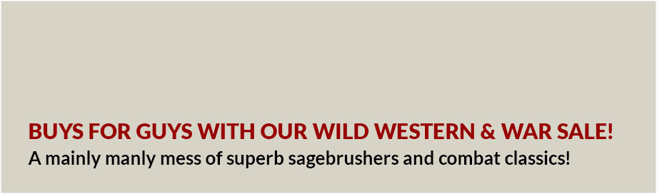 Wild Western and War Sale