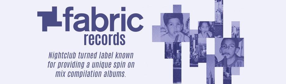 Fabric Records Label Sale