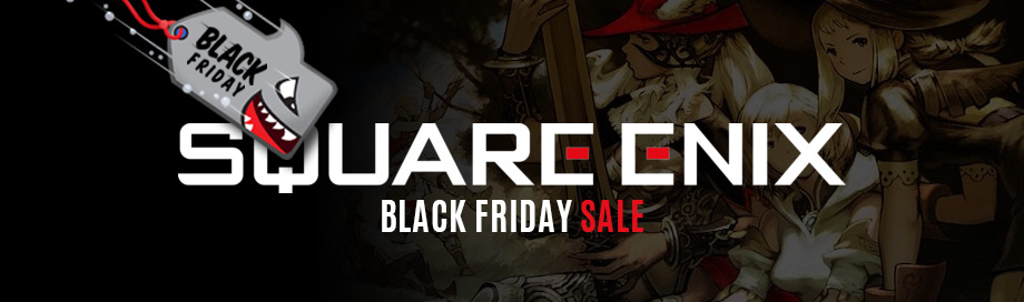 Black Friday Square Enix Sale