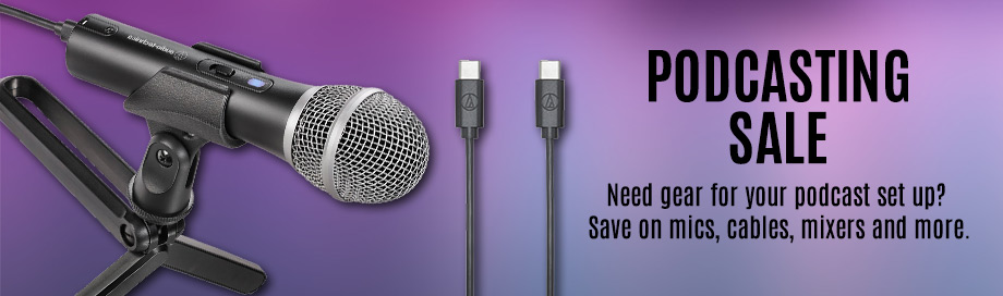 Podcasting Sale