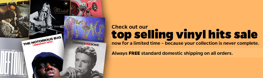 Top Selling Vinyl Hits Sale