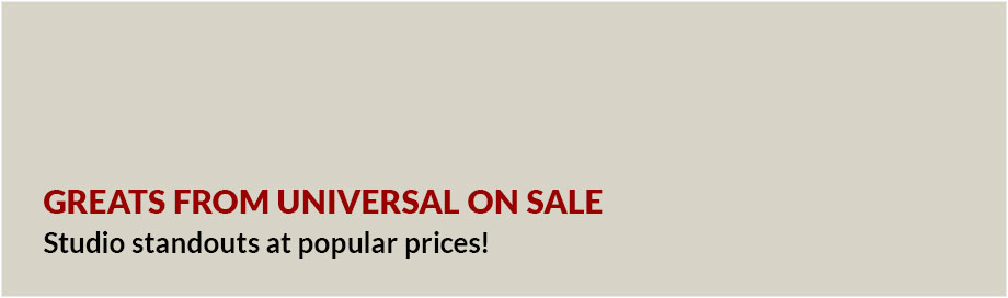 Greats from Universal on Sale