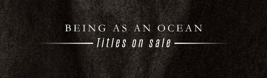 Being As an Ocean on sale