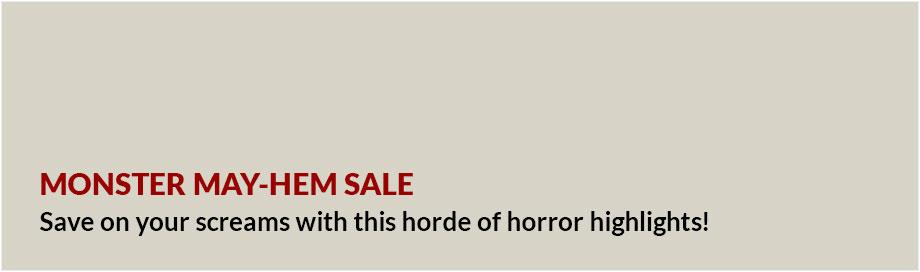 Monster May-Hem Sale