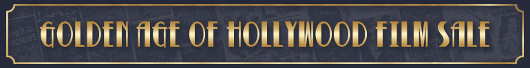 Golden Age of Hollywood sale