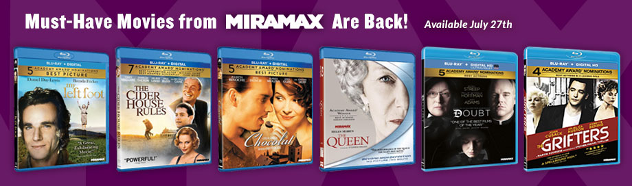 Must-Haves from Miramax Are Back