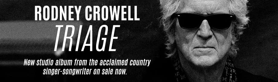 Rodney Crowell on sale