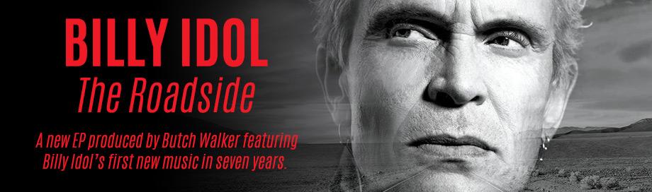 Billy Idol on sale