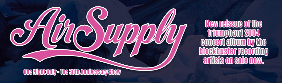 Air Supply on sale