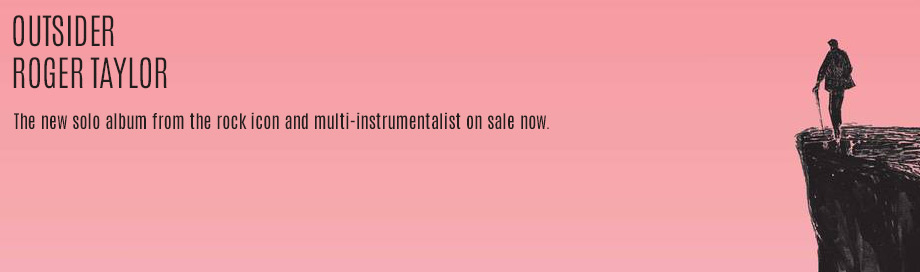 Roger Taylor on sale
