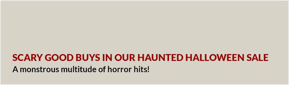 Haunted Halloween Sale