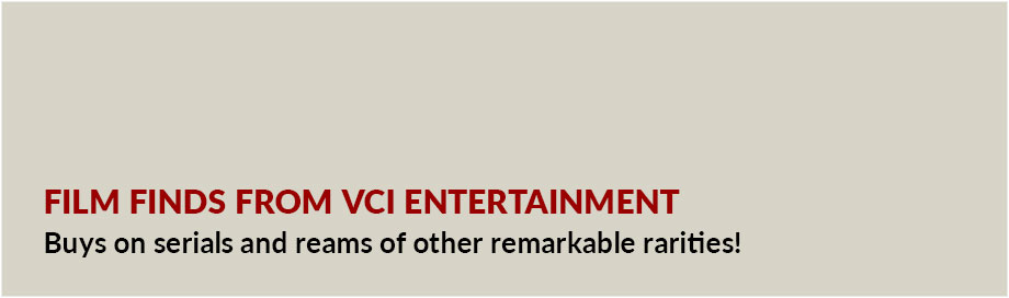 Film Finds from VCI Entertainment